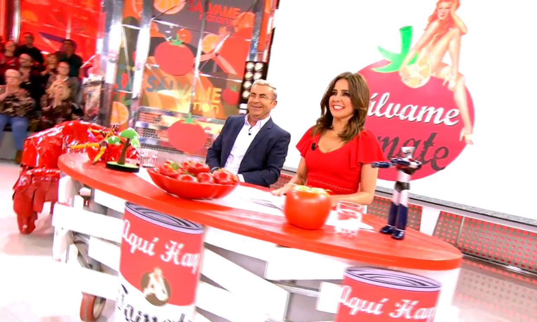 Jorge Javier Vázquez y Carmen Alcayde, juntos de nuevo en el regreso de 'Aquí hay tomate'