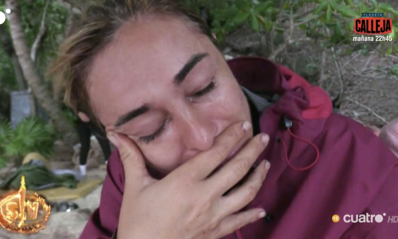 El ataque del cangrejo que ha hecho derrumbarse a Ana María Aldón
