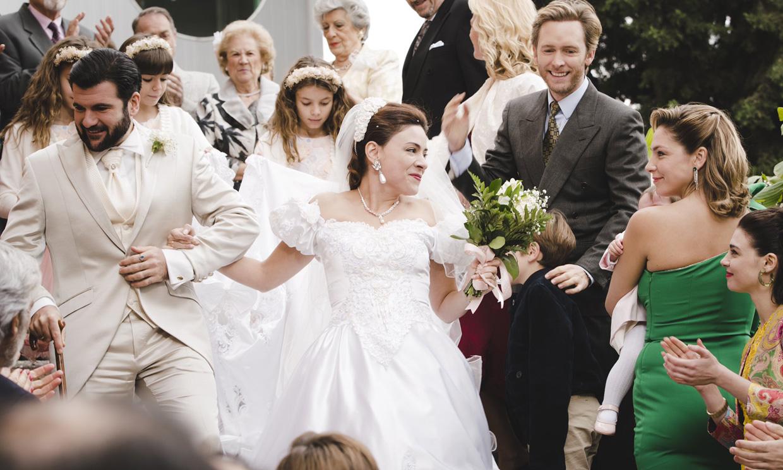 La boda de Paquita revoluciona a los Alcántara en el último capítulo de la temporada