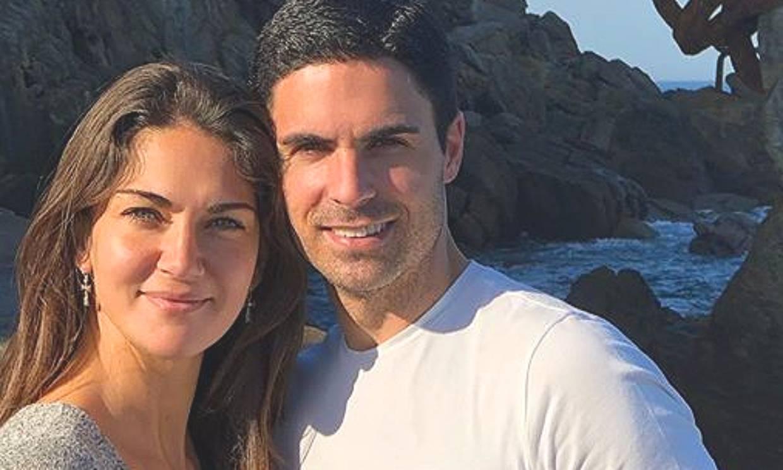 Lorena Bernal tranquiliza sobre la salud de su marido, Mikel Arteta, tras dar positivo en COVID-19