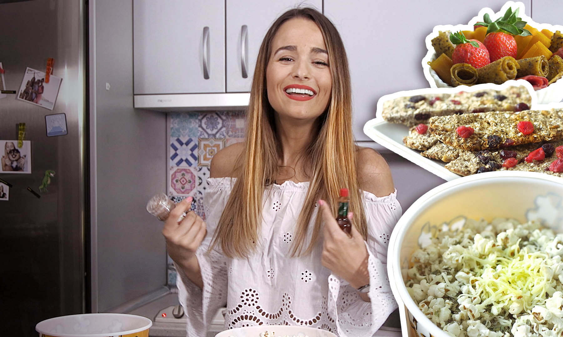 Pica entre horas (pero de manera sana) con estos 3 'snacks' que nos propone Sylvia Salas