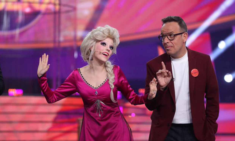Nerea Rodríguez se transforma en Elsa de 'Frozen' para triunfar en 'Tu cara me suena'