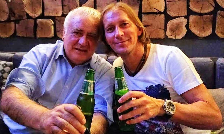 La emotiva despedida de Michel Salgado a su suegro, Lorenzo Sanz