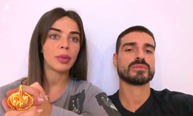 Violeta y Fabio, ausentes en la última gala de 'Supervivientes': 'Probablemente estemos contagiados'