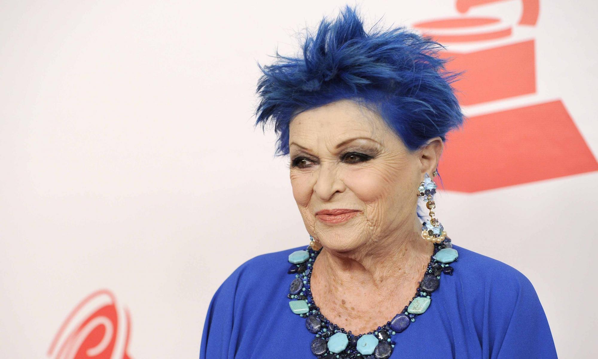 El motivo por el que Lucía Bosé tenía el pelo azul