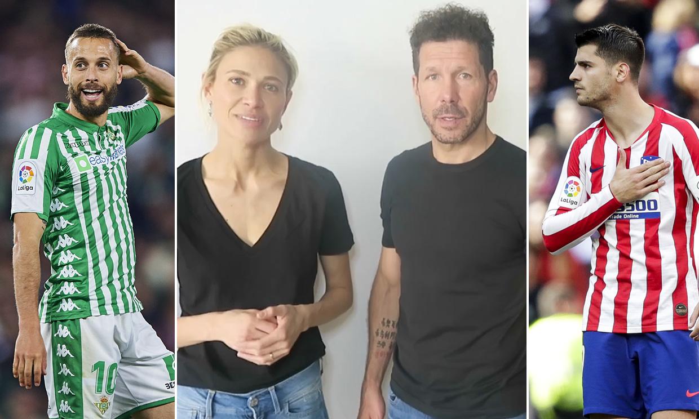 El mundo del fútbol se vuelca en la lucha contra el coronavirus