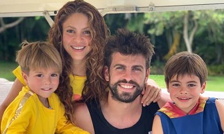 Gerard Piqué cuenta cómo viven estos días en casa con sus hijos y lanza un mensaje de ánimo