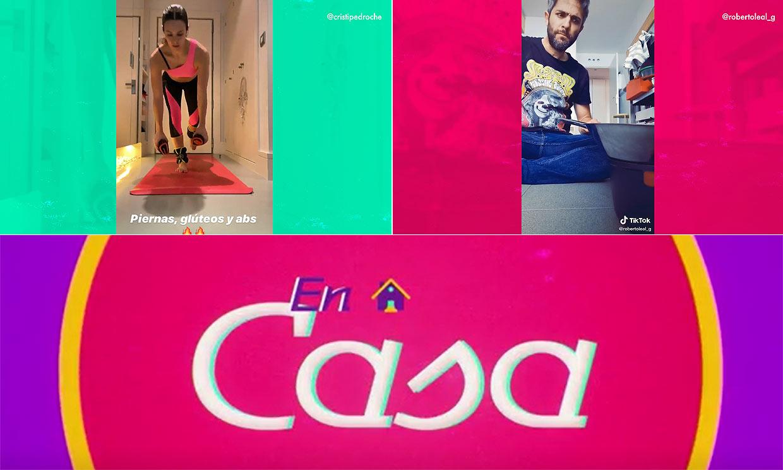 'En casa': ponte en forma con Cristina Pedroche y no te pierdas el divertido juego musical de Roberto Leal