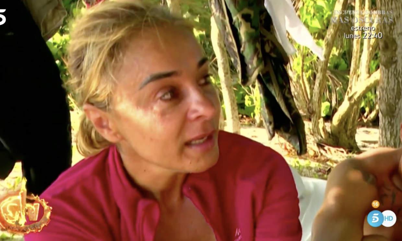 Ana María Aldón se disculpa con Yiya por su mal comportamiento