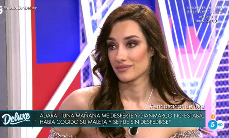 Adara Molinero: 'Estoy en shock, asimilando todo lo que está pasando'