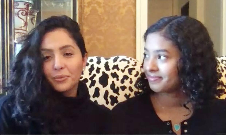 La primera entrevista de Vanessa Bryant y su hija mayor tras el fallecimiento de Kobe y Gianna