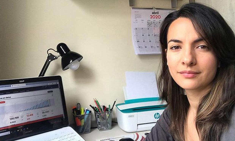 Esther Vaquero vuelve al trabajo tras su maternidad y... algo ha cambiado