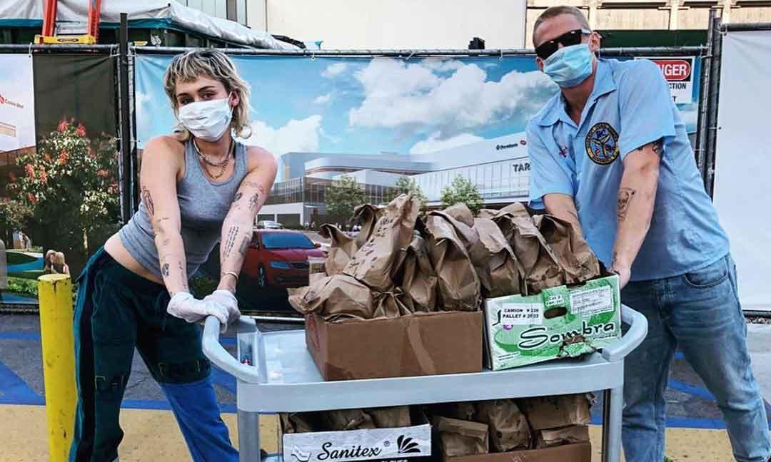 Miley Cyrus, Rita Ora, Bon Jovi... Así ayudan en la lucha contra el coronavirus