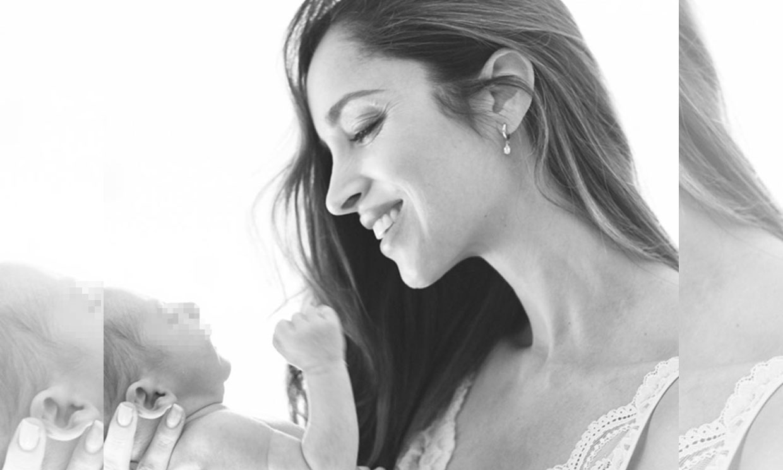 Las preciosas imágenes con las que Lorena Van Heerde celebra el cuarto cumplemés de su hijo