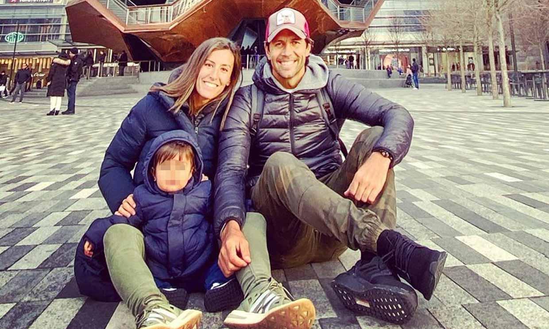Juegos y recuerdos, el confinamiento de Ana Boyer y Fernando Verdasco con su hijo Miguel