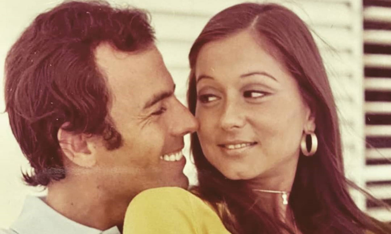 Julio José Iglesias rescata una romántica y significativa imagen de sus padres