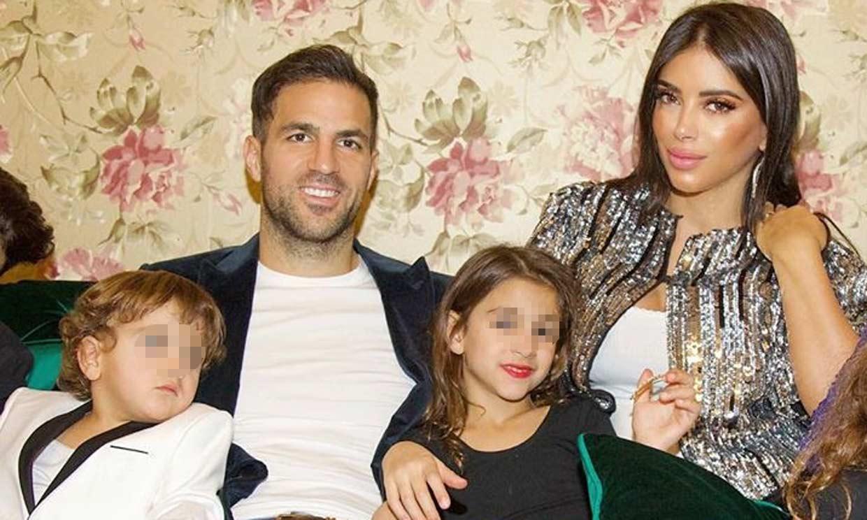 Princesas, desfiles de moda... El cumpleaños de Lia, la hija mayor de Cesc Fábregas y Daniella Semaan