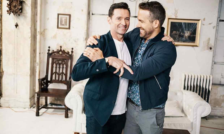 La broma de Ryan Reynolds a Hugh Jackman en su aniversario de boda