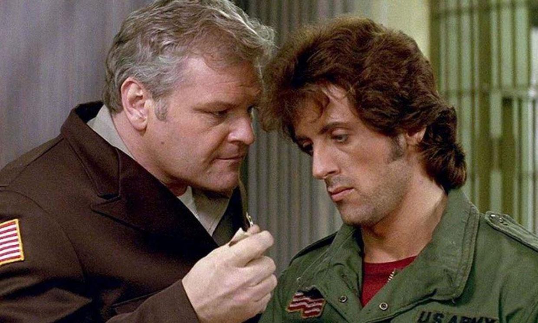 Emotiva despedida de Sylvester Stallone a Brian Dennehy, actor de 'Acorralado'