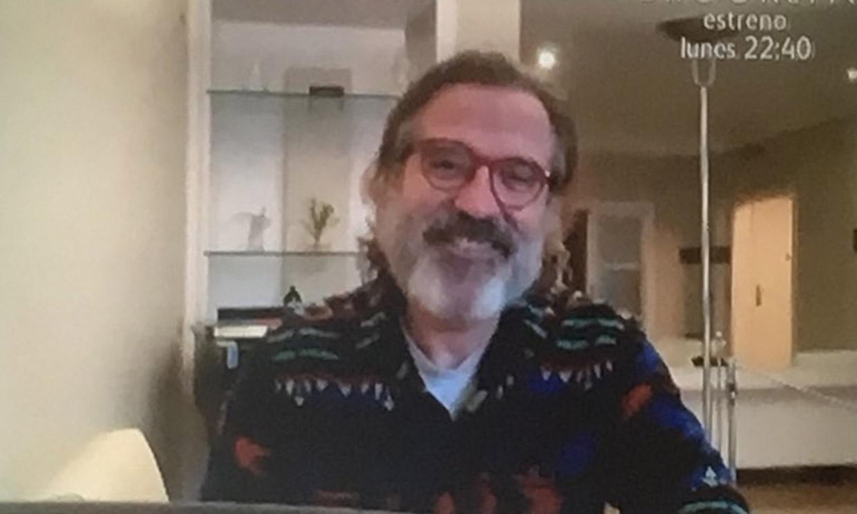 Pepe Navarro reaparece con un sorprendente aspecto durante la cuarentena