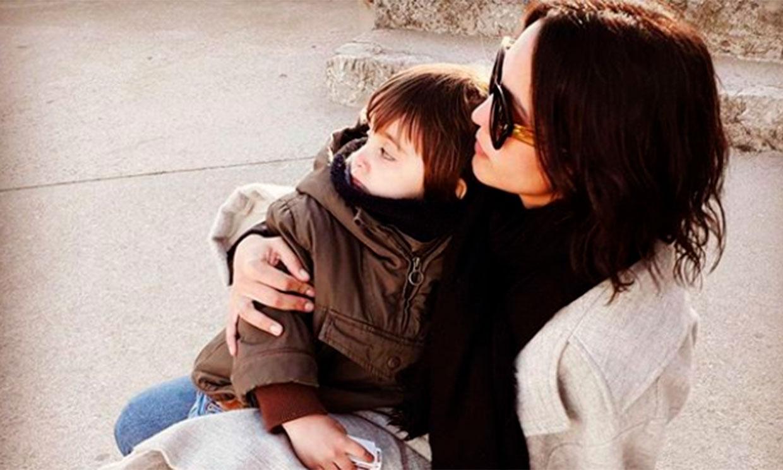 Megan Montaner celebra el tercer cumpleaños de su hijo Káel entre globos y disfraces