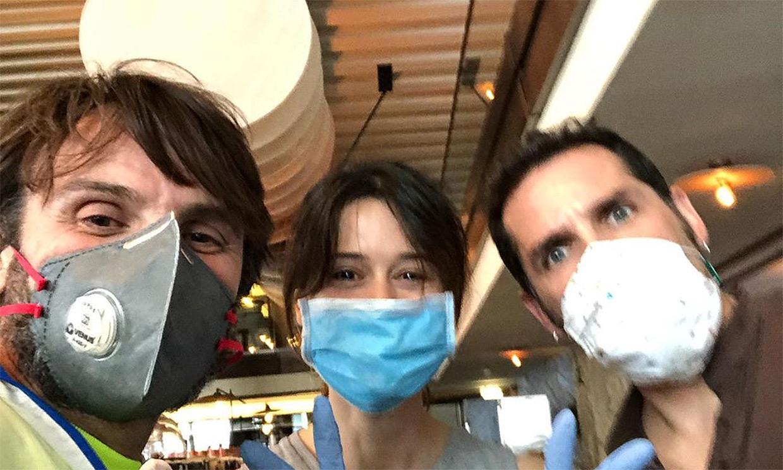 Fernando Tejero vuelve a los fogones para ayudar a los afectados por el coronavirus en Madrid