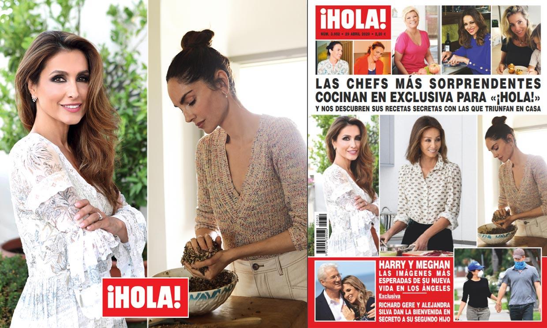 Las chefs más sorprendentes cocinan en exclusiva para ¡HOLA!