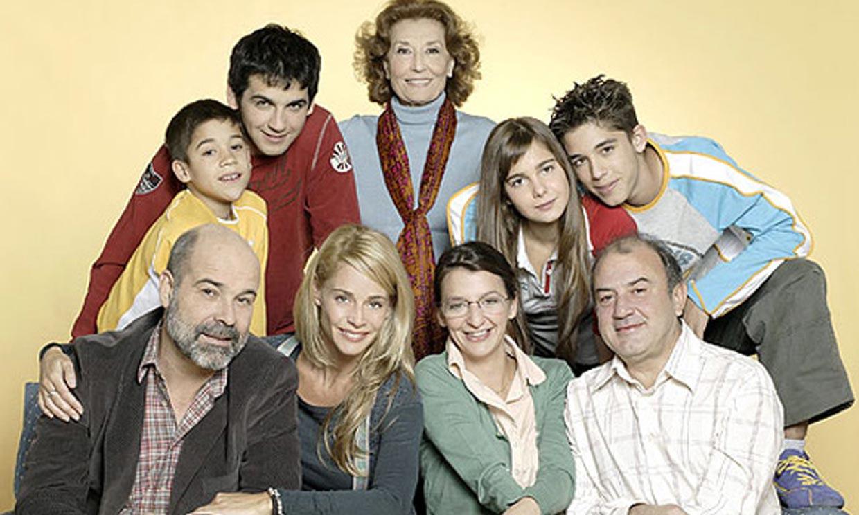 El nostálgico reencuentro de Fran Perea y Belén Rueda con el 'Uno más uno son 7' de 'Los Serrano' de fondo