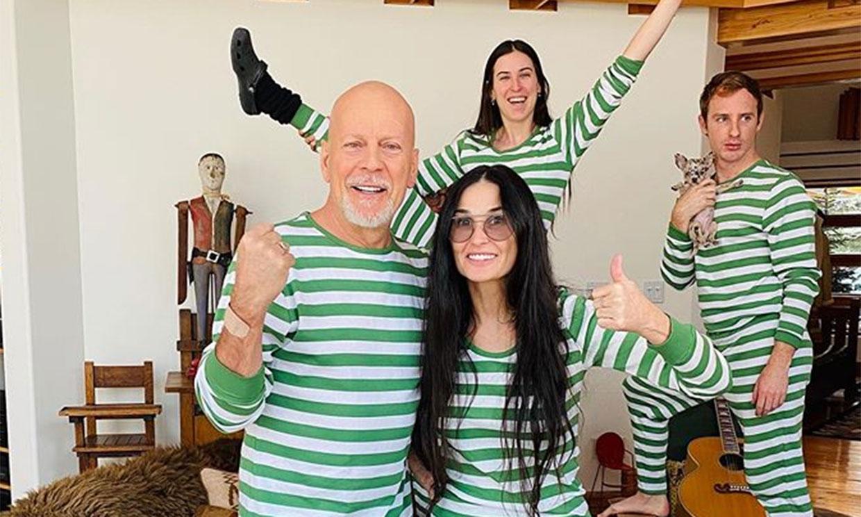 La razón por la que Bruce Willis pasa el confinamiento con Demi Moore y no con su mujer