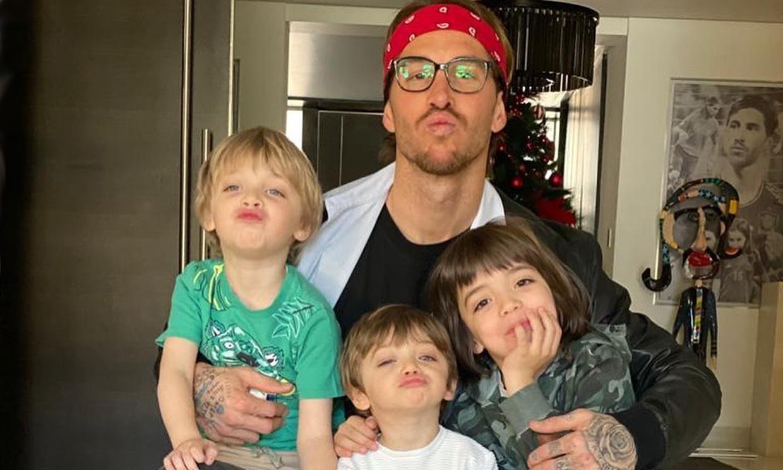 ¡Igual que papá! Los hijos de Sergio Ramos copian su estilo
