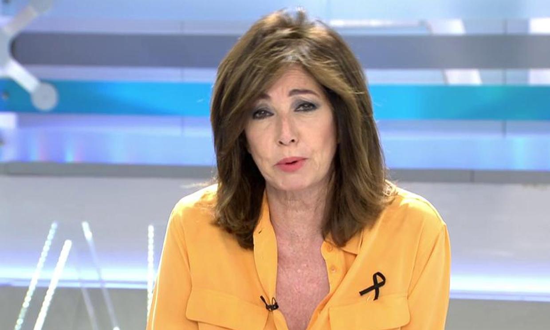 Ana Rosa Quintana, a una reportera: '¡Cuidado que te vuelas!'