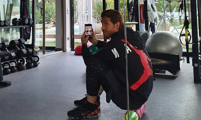Sergio Ramos elige para entrenar una música que te va a sorprender