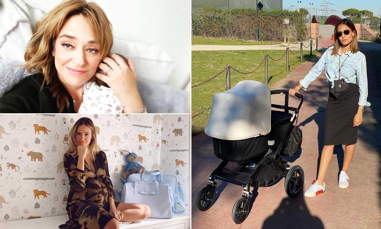 Toñi Moreno, Hiba Abouk y otras 'celebrities' celebran su primer Día de la Madre