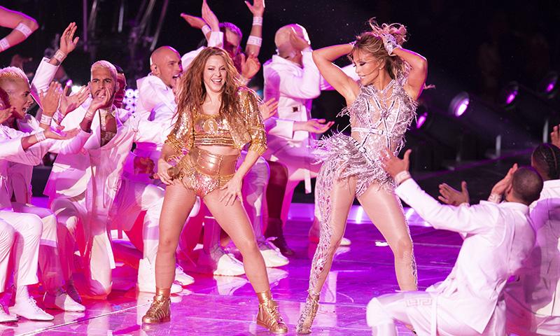 Este es el paso de baile que Jennifer López le enseñó a Shakira antes de la Super Bowl