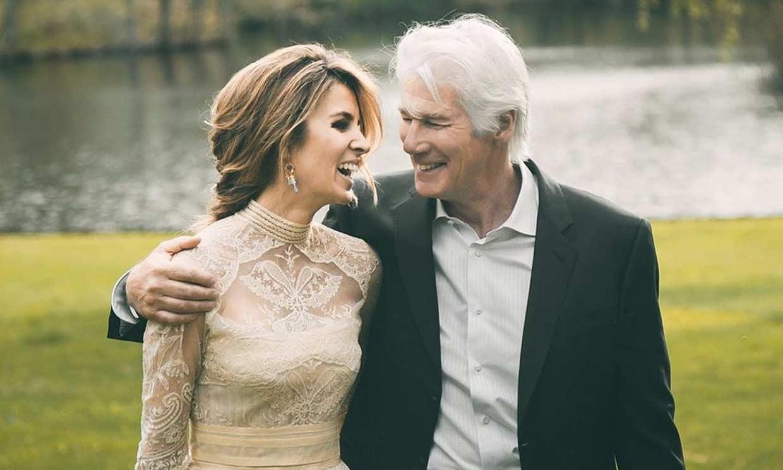 Alejandra Gere comparte un álbum de su boda dos años después de dar el 'sí, quiero' a Richard Gere