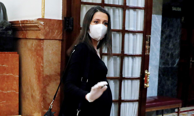 Inés Arrimadas, a punto de dar a luz: 'Solo he salido de mi casa para ir al médico'