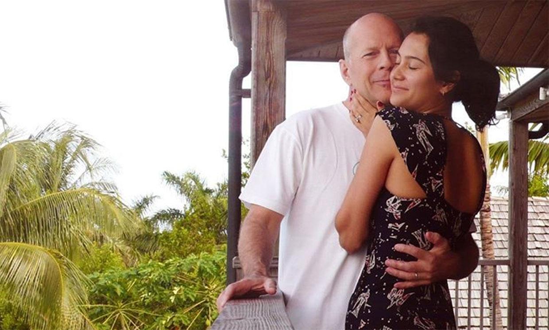 Bruce Willis se reencuentra con su esposa y sus hijas después de un mes separados
