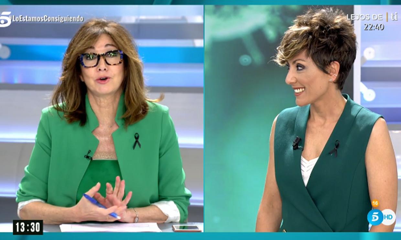 Las bromas de Ana Rosa Quintana y Sonsoles Ónega en pleno directo