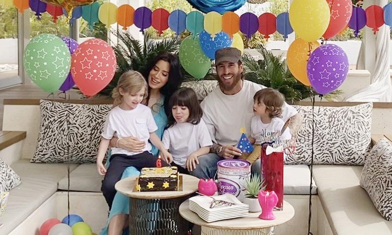 Sergio Ramos y Pilar Rubio hacen su lista de deseos por el cumpleaños de su hijo mayor