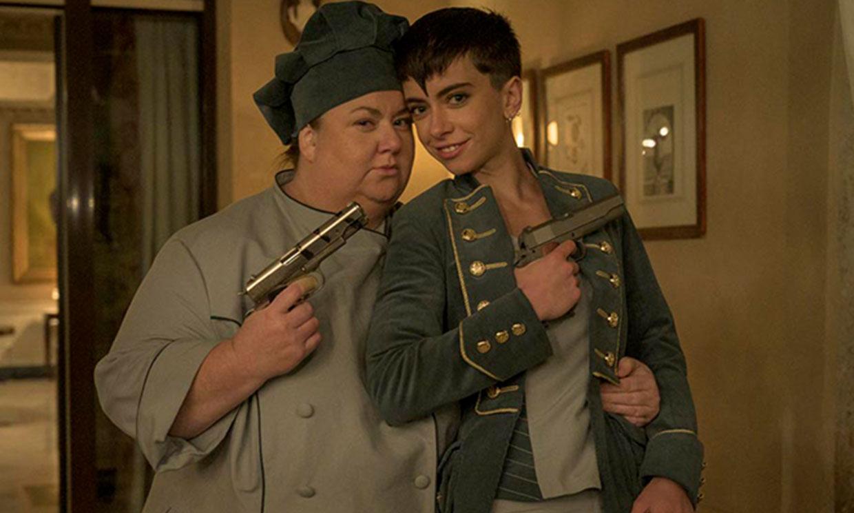 Itziar Castro y Claudia Riera, la pareja estrella de 'Vis a vis: El Oasis': 'El final va a ser apoteósico'