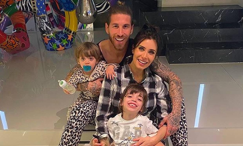 Así sorprendió la policía al hijo de Pilar Rubio y Sergio Ramos en su cumpleaños