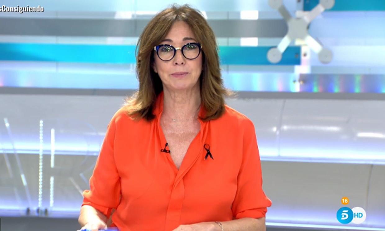 Ana Rosa Quintana hace una consulta médica en directo