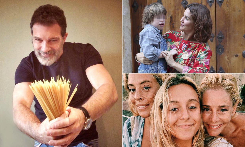 Del confinamiento en soledad de Antonio Banderas al de Samantha Vallejo-Nágera, con 22 familiares