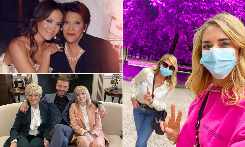 Fotos de la infancia, cariñosas dedicatorias... Las 'celebrities' internacionales celebran el Día de la Madre