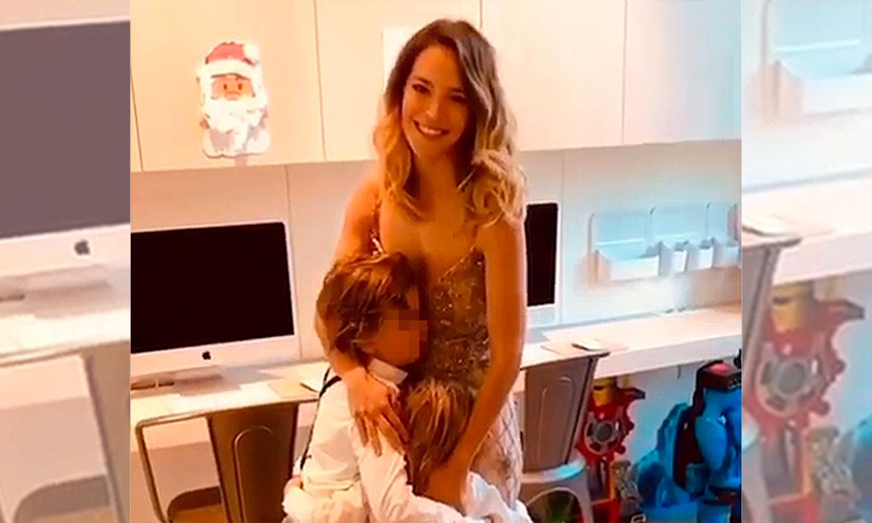 Luisana Lopilato se 'derrite de amor' bailando con sus hijos, Noah y Elías