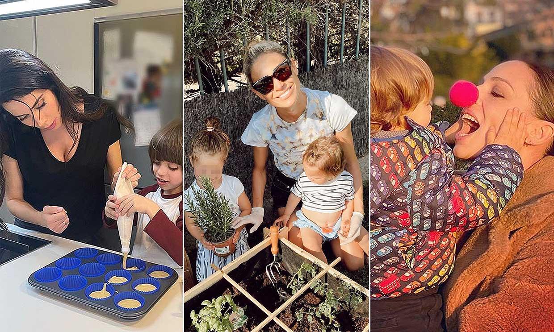 Tú eliges: ¿Qué mamá ha protagonizado los momentos más simpáticos con sus hijos esta cuarentena?