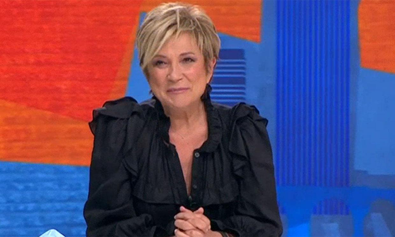 Inés Ballester regresa emocionada a televisión tras superar el coronavirus