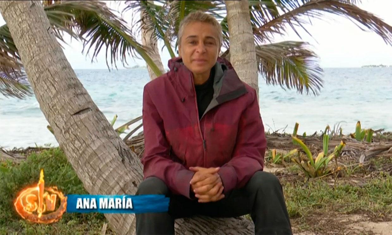 Ana María Aldón, hundida tras el último duro temporal en Honduras
