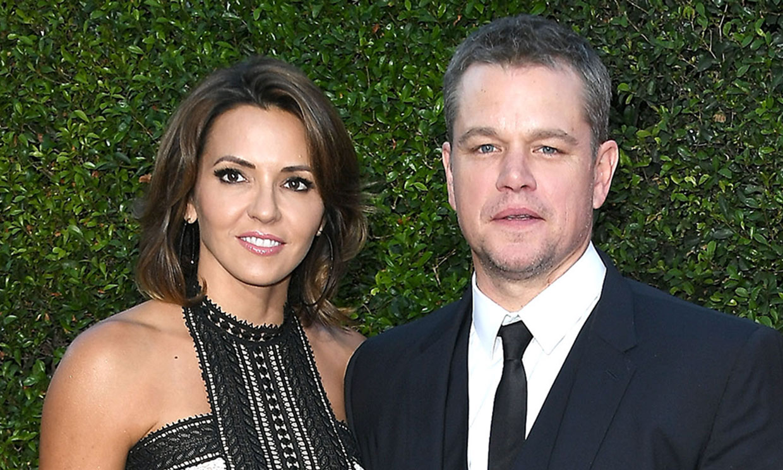 Matt Damon cuenta que su hija mayor tuvo coronavirus