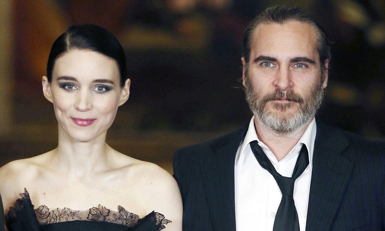 ¡Buenas noticias! Joaquin Phoenix y Rooney Mara van a ser papás